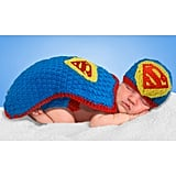 Baby Crochet Diaper Cover Superman Costume