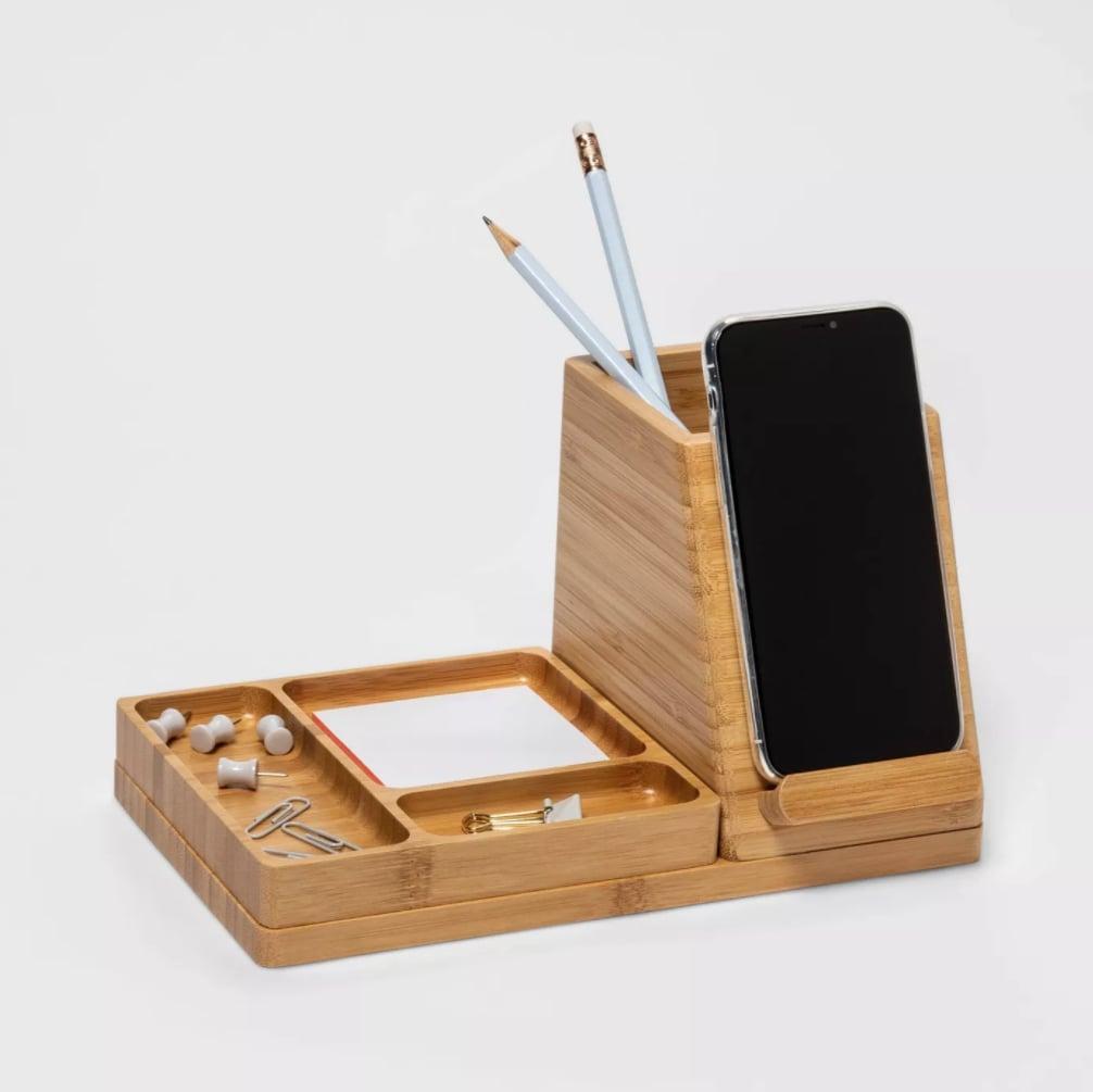 Project 62 Medium Bamboo Desk Storage