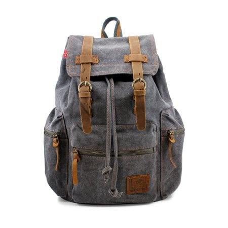Men's Outdoor Sport Vintage Canvas Backpack