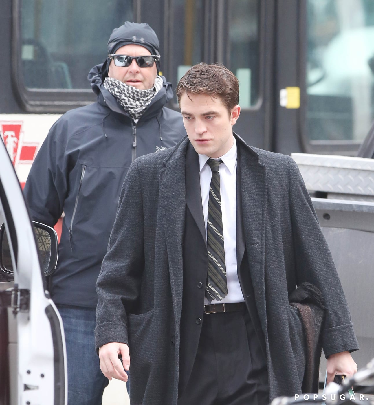 Robert Pattinson Goes Incognito Before Getting Into Character