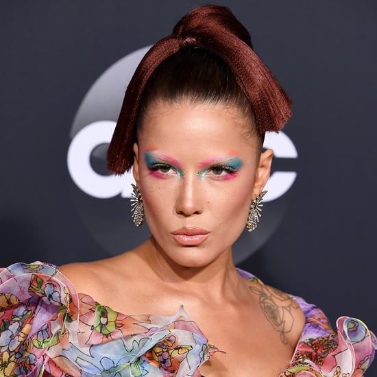 Halsey Watercolour Makeup at the American Music Awards 2019