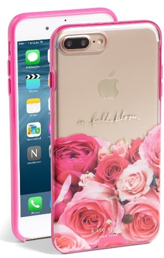 Kate Spade In Full Bloom iPhone 7 Plus Case - Pink ($45)