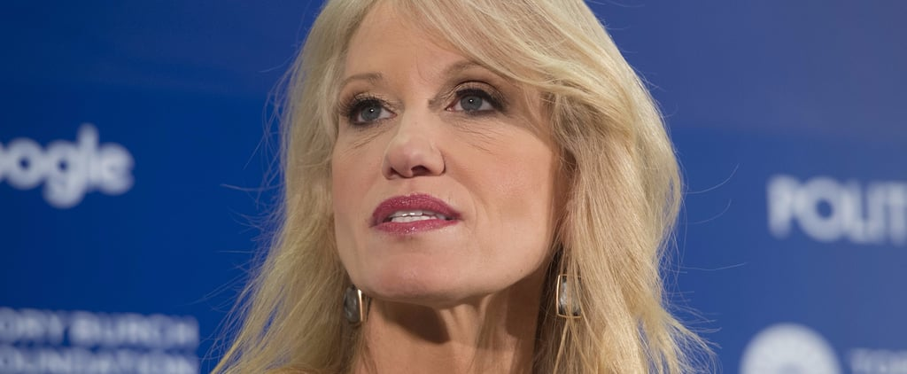The Internet Had a Field Day With Kellyanne Conway's Microwave Comment