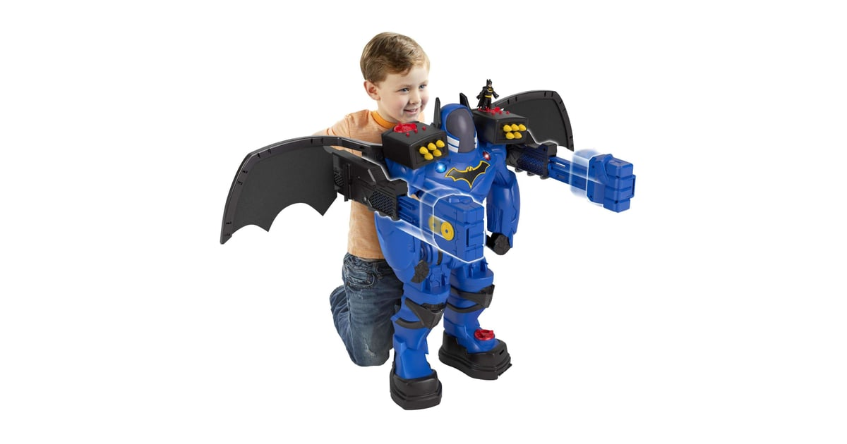 Batman Toys For Kids : For year olds imaginext dc super friends batman batbot
