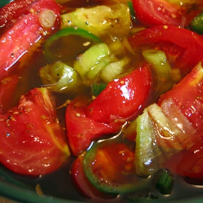 Fast and Easy Pickled Tomato Recipe
