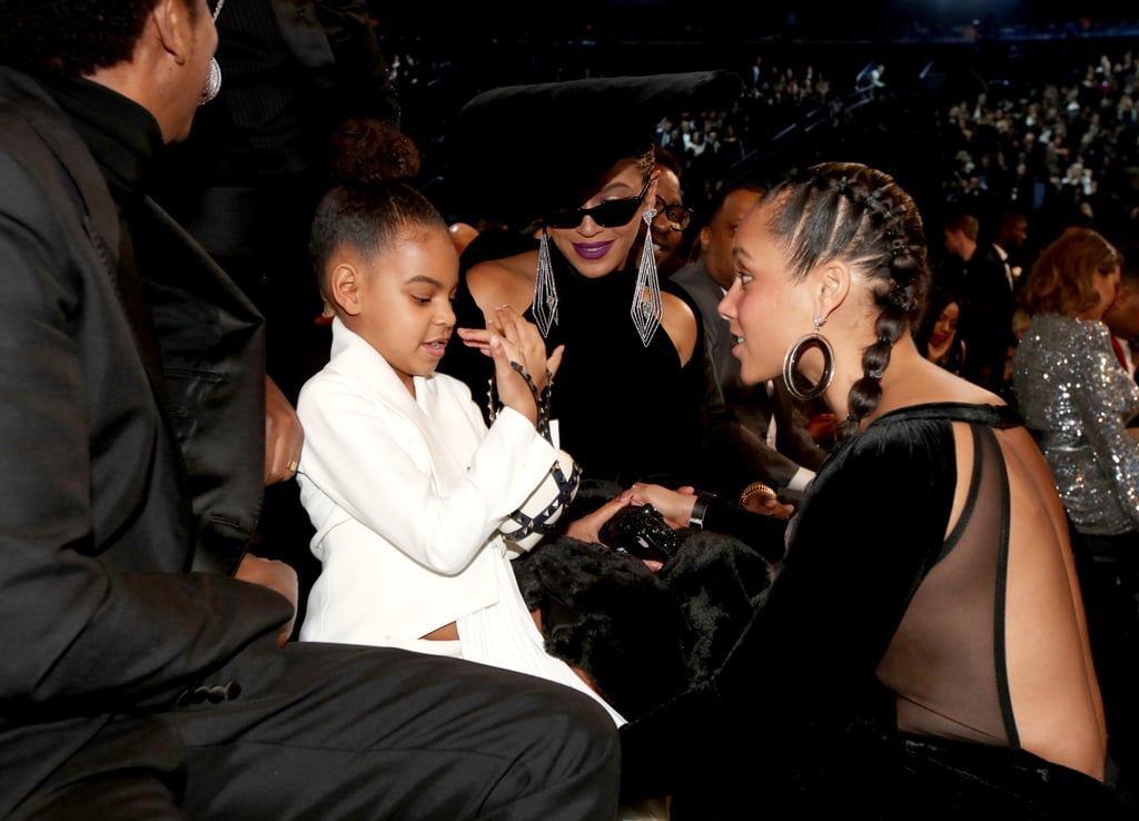 Little miss Blue Ivy Carter had one hell of a night at Sunday's Grammys. Not only did she make her presence known during the star-studded ceremony, but she was even spotted sushing her parents for their overly enthusiastic clapping. Because of her adorable antics and undeniable cuteness, Blue has given us several memorable moments to obsess over throughout the past few years. Today, we're taking a walk down memory lane and looking back at Blue's best award show moments.       Related:                                                                                                           These Pictures of Jay Z in Dad Mode Will Make You Feel Anything but Blue