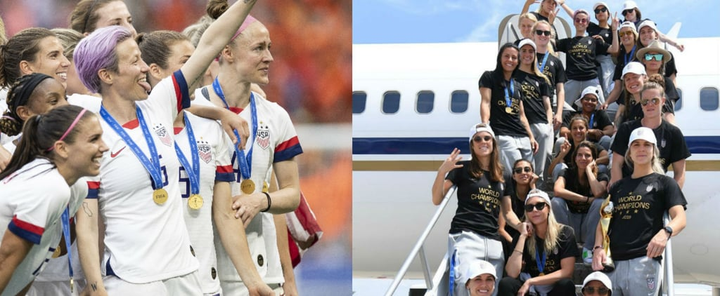 US Women's Soccer Team World Cup Celebration Pictures