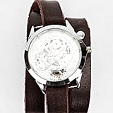 This ultraunique Exposed Watch ($30, originally $48) is incidentally in Fall's rich, moody shade of burgundy. It'll add a seasonally chic effect to anything you put on — we love the idea of wearing this one with a white-button down and a slim navy pencil skirt.