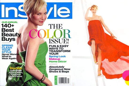 Renee Zellweger on the Cover of InStyle April 2008