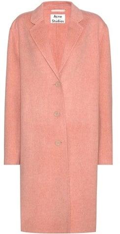 Acne Studios Avalon Doublé Wool and Cashmere Coat ($1,150)