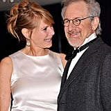 Steven Spielberg and Kate Capshaw came out for the big event.