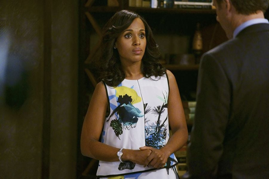 A lot of things haven't changed, but florals for Olivia Pope actually are kind of groundbreaking.