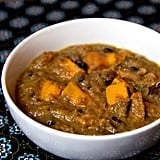 Tuesday: Black and White Bean Soup With Sweet Potatoes