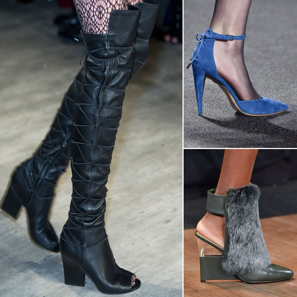 Best Runway Shoes at New York Fashion Week Winter 2015 ...