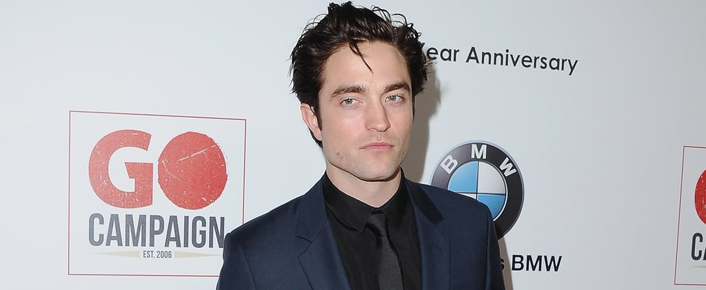 Robert Pattinson Gives Off Major Edward Cullen Vibes During His Latest Red Carpet Appearance