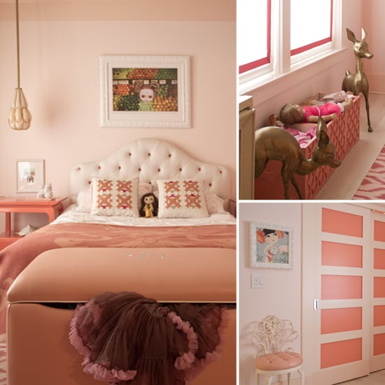 Convey Your Little Girl S Personality Through Her Bedroom: Pink Vintage Glam Little Girl's Room