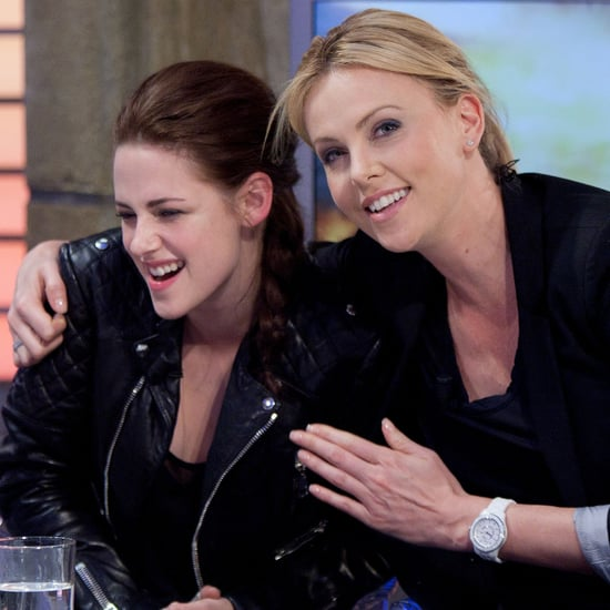 Kristen Stewart And Charlize Theron Let Their Hair Down On Spanish TV