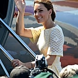 Kate Middleton headed to Tuvalu.
