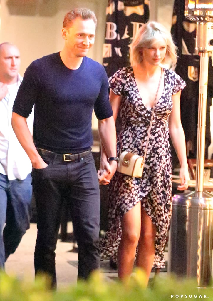 "Just days after touching down in Australia, Taylor Swift and Tom Hiddleston were spotted enjoying a romantic dinner date at Gemelli Italian on the Gold Coast on Sunday. The pair — who haven't been shy about flaunting their love all over the globe — looked smitten with each other as they held hands while exiting the restaurant and Taylor let Tom lead the way to their car. This is just the latest we've seen of the new couple since they celebrated the Fourth of July together at a star-studded bash at the ""Bad Blood"" singer's Rhode Island home, though at this rate, we're expecting tons more photos in the months to come. In the meantime, look back at Taylor and Tom's cutest moments to date!"