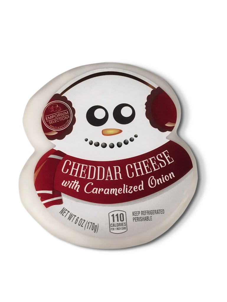 Aldi Holiday-Themed Cheese
