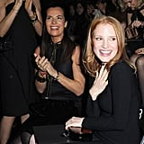 Jessica Chastain learned of her Oscar nomination during the show.