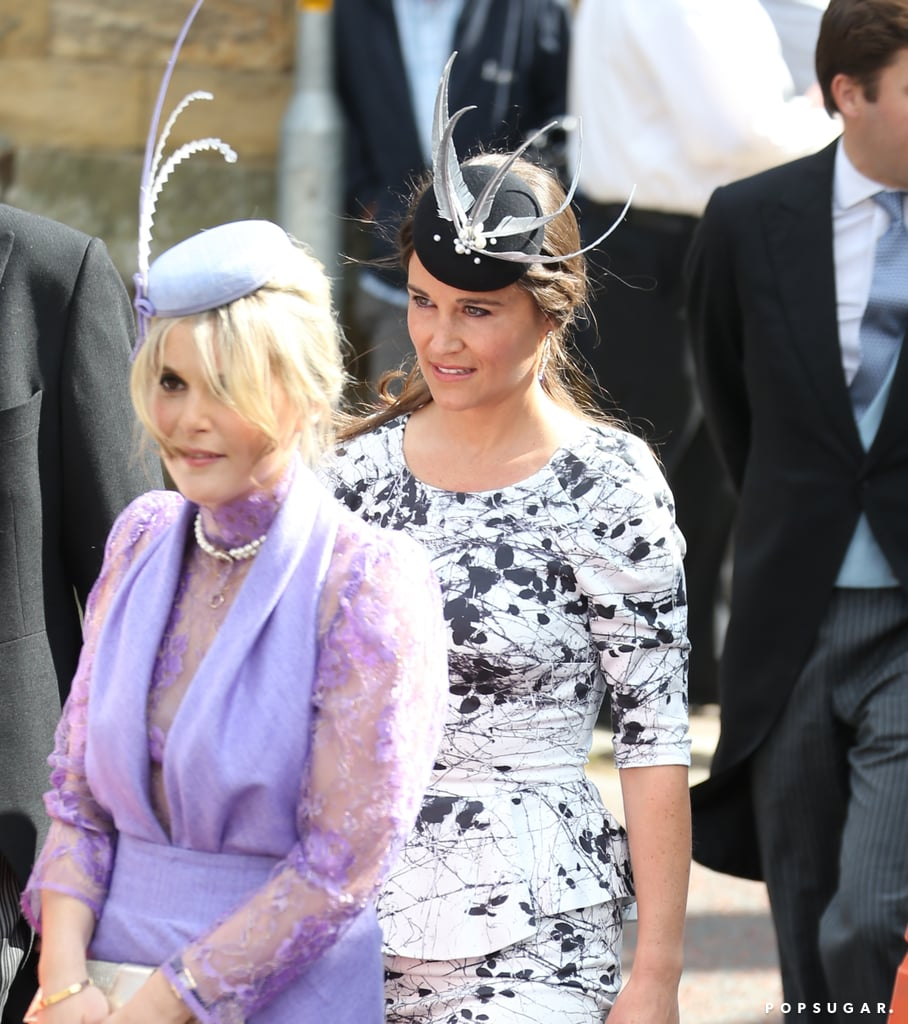 Pippa Middleton was among the wedding guests.