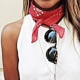 A Thin Pendant That Works With Your Neckerchief