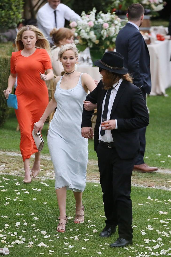 Jennifer Lawrence At Best Friend S Wedding May 2016