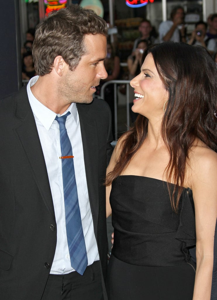 Sandra Bullock showed up to support her pal Ryan Reynolds at the premiere of his film The Change-Up in August 2011.