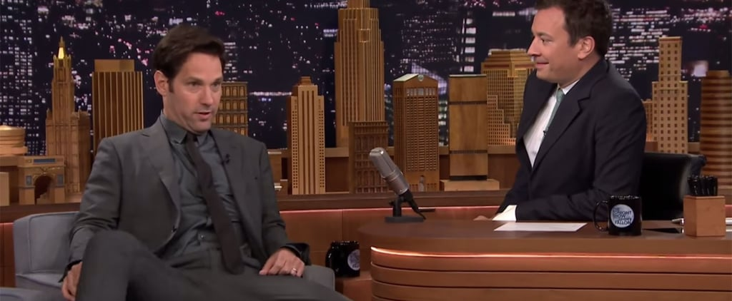 Paul Rudd Talks About That One Time He Tried to Flash Michael Douglas