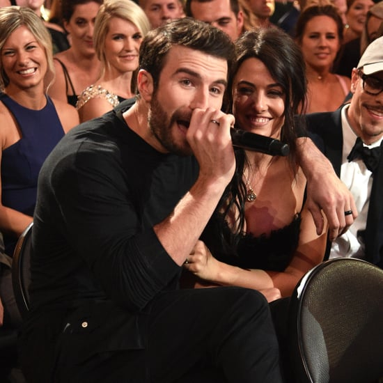 Sam Hunt and Hannah Lee Fowler at the 2017 ACM Awards