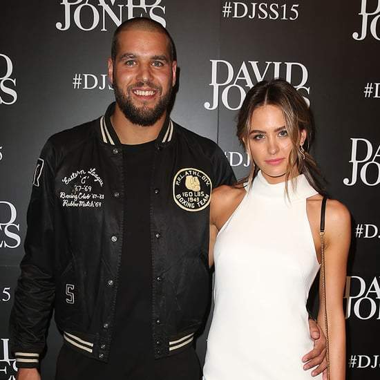 Celebrities on Red Carpet at David Jones Spring Summer 2015