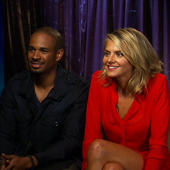 Eliza Coupe Interview Talking About 50 Shades of Grey