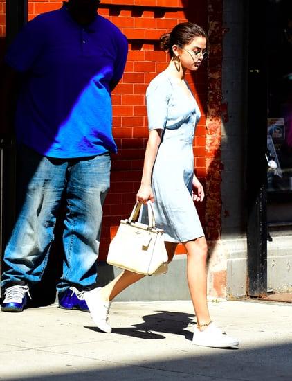Selena Gomez Wearing Anklets | POPSUGAR Fashion