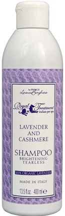 Groom your pet like a royal with the help of an actual royal. Prince Lorenzo Borghese's (of The Bachelor fame) Royal Treatment Organic Lavender and Cashmere Shampoo ($23) will make your pet smell like he just stepped out of the palace spa.