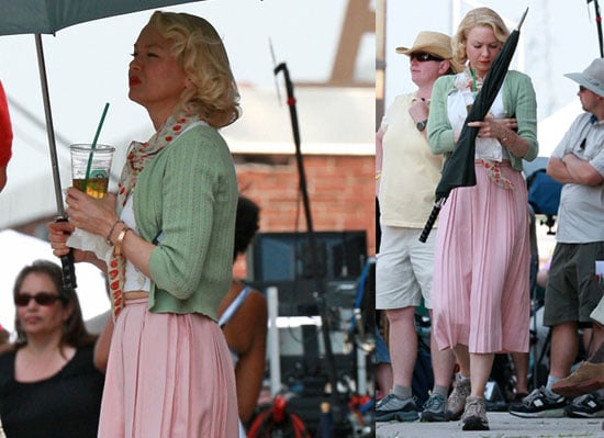 Photos of Renée Zellweger on the Set of My One and Only