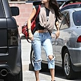 Selena Gomez went to lunch in LA.