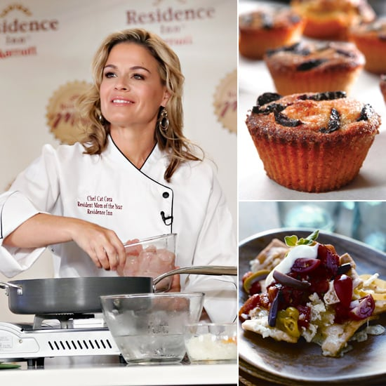 Cat Cora Shares 2 Healthy and Fun After-School Snacks