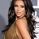 Kim Kardashian's Voluminous Waves in 2011