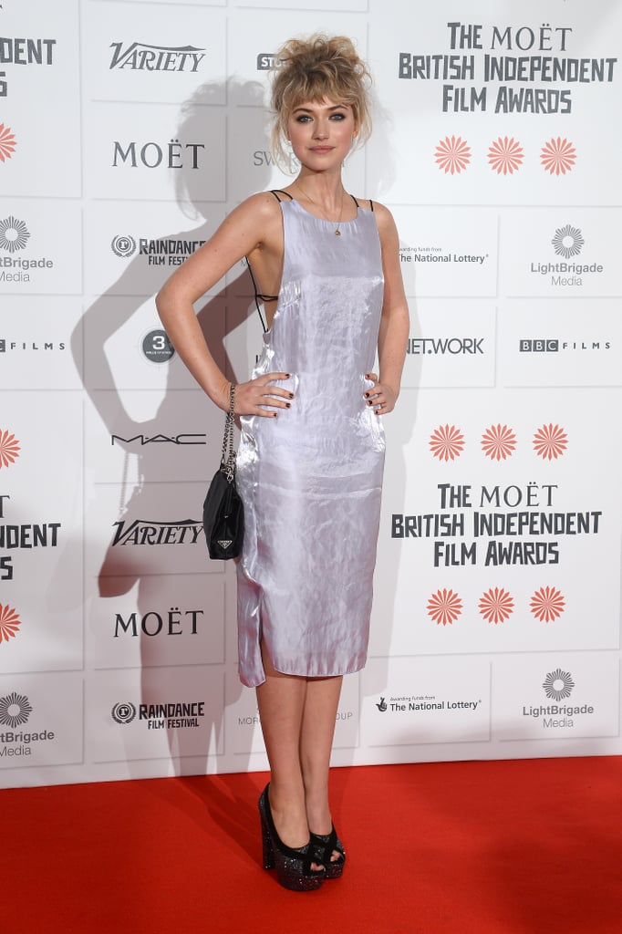 Imogen Poots in Rag & Bone at the Moët British Independent Film Awards.