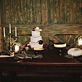 Creepy Vintage Fall Wedding