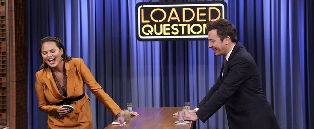 Chrissy Teigen and Jimmy Fallon Play Loaded Questions Video