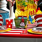 Cat In The Hat Photo Prop Dr Seuss Themed Birthday Party Ideas