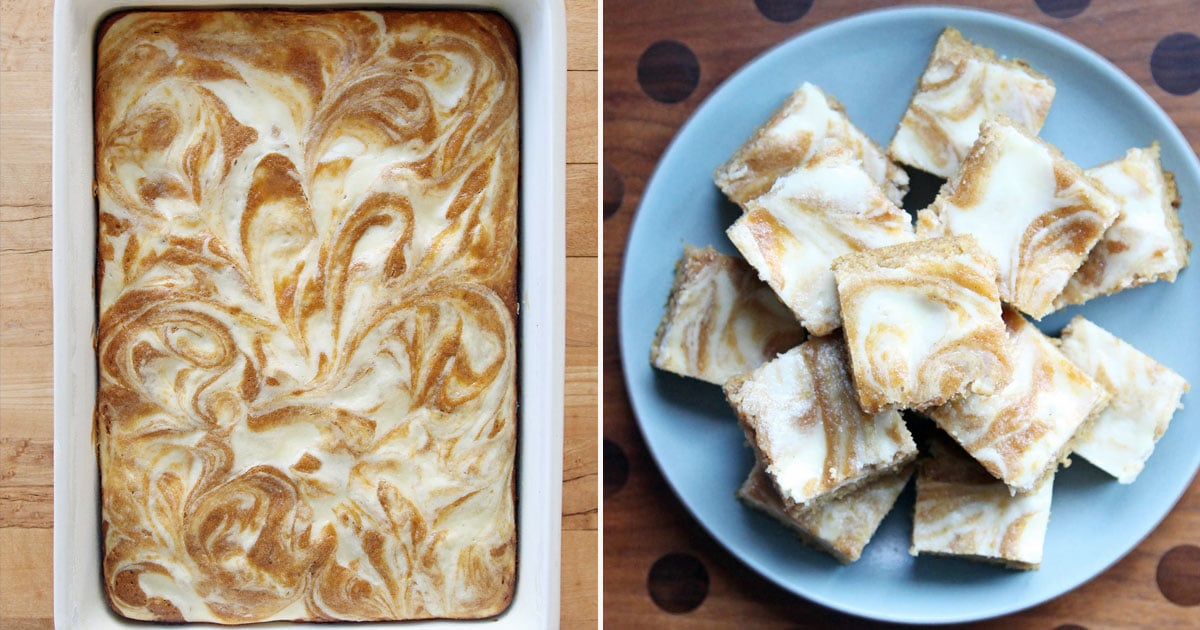 These Pumpkin Cream Cheese Bars Might Be the Best Fall Treat You'll Ever Have