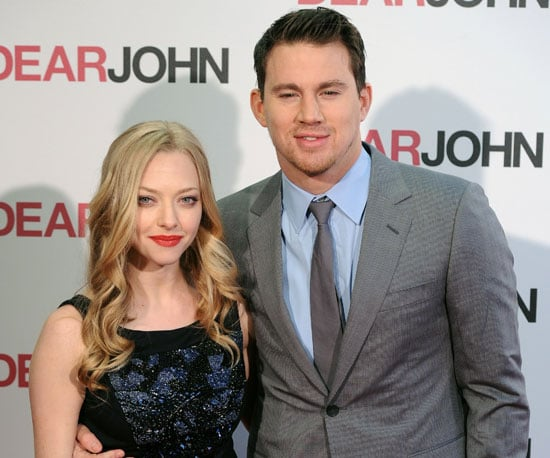 Slide Photo of Channing Tatum and Amanda Seyfried at Dear John London Premiere