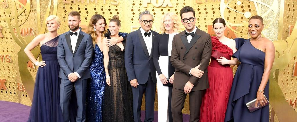 Photos of the Schitt's Creek Cast at the 2019 Emmys