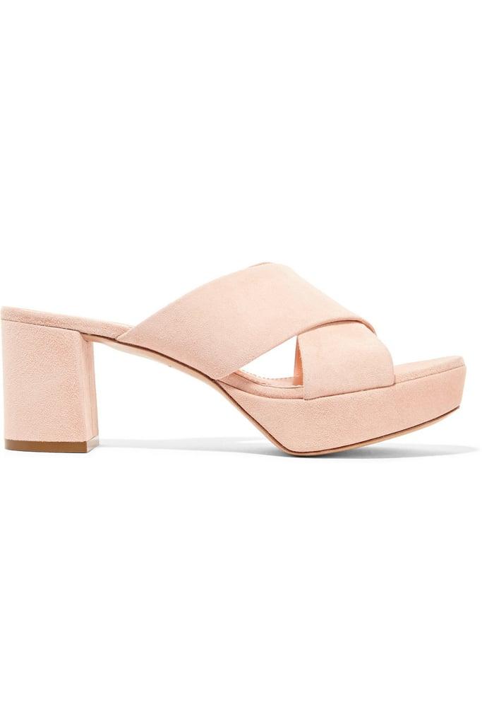 Mansur Gavriel Suede Platform Sandals ($545)