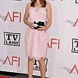 Natalie Portman in Light Pink Dress at the 2011 Life Achievement Awards