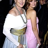 Meryl and Louisa struck a cute pose at the 2004 Emmy Awards.