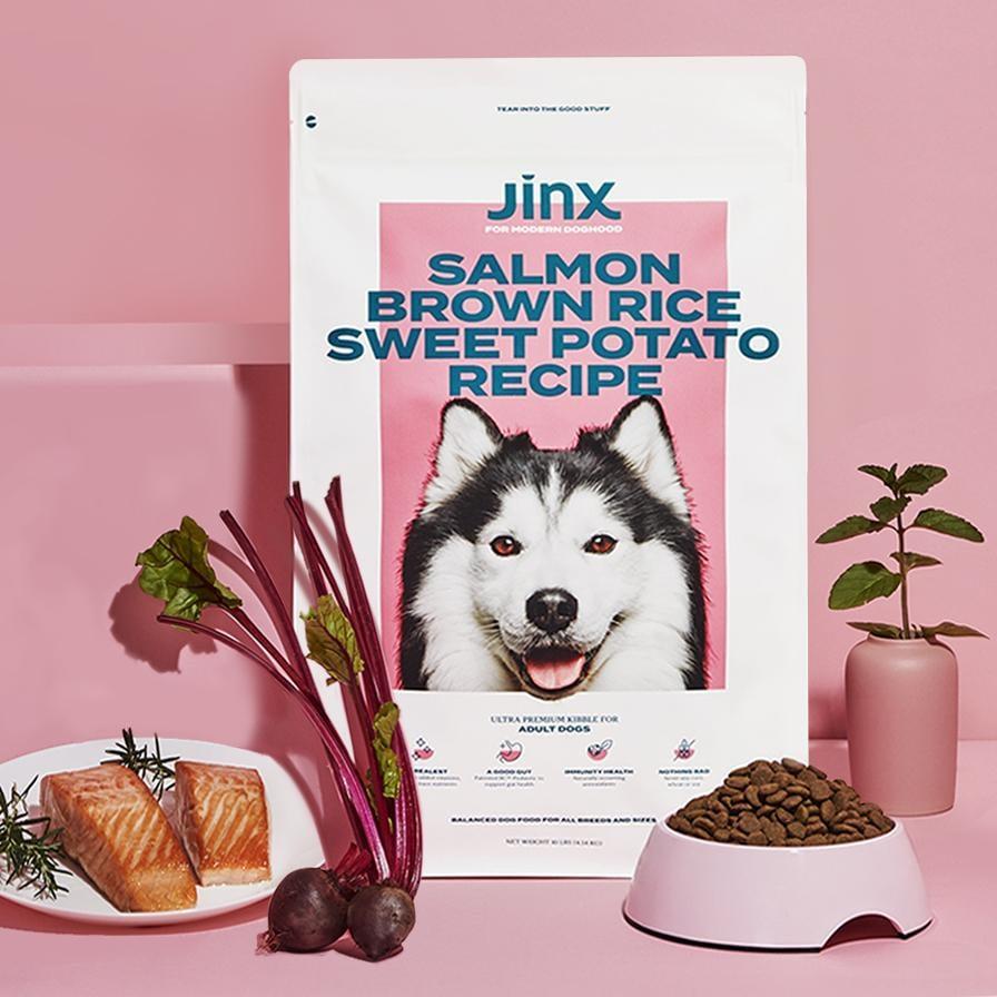 Jinx Salmon, Brown Rice and Sweet Potato Kibble